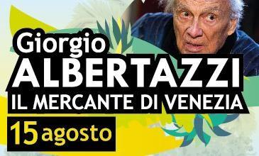 Giorgio Albertazzi in Il mercante di Venezia