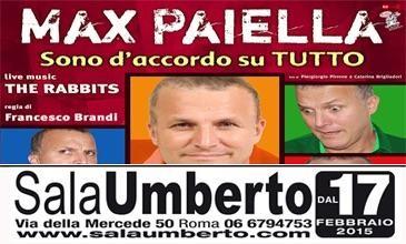 Max Paiella in SONO D'ACCORDO SU TUTTO